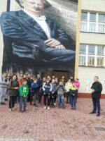 Młodzież z Brzozowej w murach naszej szkoły