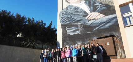 Uczniowie ze Szkoły Podstawowej im. Marii Konopnickiej w Wyskitnej u Mistrza Paderewskiego