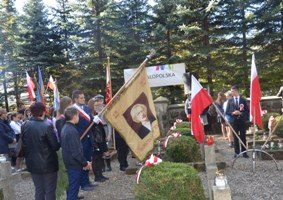 Uroczystości religijno-patriotyczne na Dąbrach