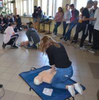 Akcja bicia rekordu w udzielaniu pierwszej pomocy