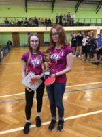 Mistrzostwa Powiatu w Drużynowym Tenisie Stołowym Dziewcząt oraz Chłopców – Żabno