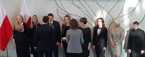 Medal Brązowy za Długoletnią Służbę dla pana Jacka Przybyło