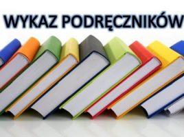 Podręczniki na rok szkolny 2020/2021